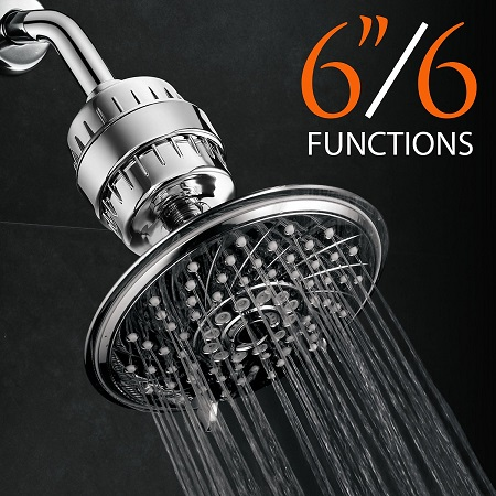 top 10 best rain shower head in 2017 reviews top 10 review of. Black Bedroom Furniture Sets. Home Design Ideas