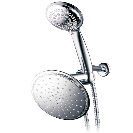 8. DreamSpa 1432 3-way Rainfall Shower-Head and Handheld Shower