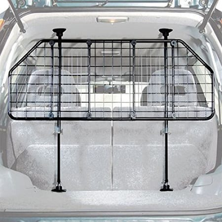 Fully adjustable mesh pet barrier