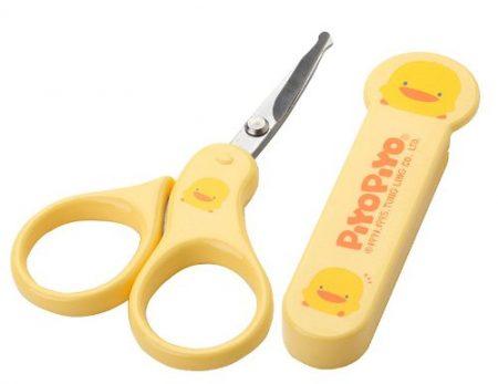 Piyo Yellow Baby Nail Scissors