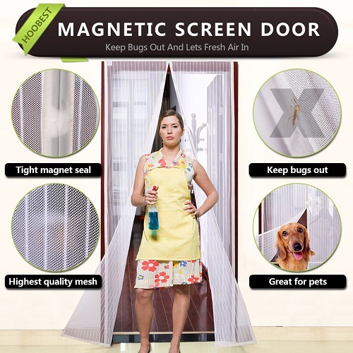 Hoobest Magnetic Screen Door