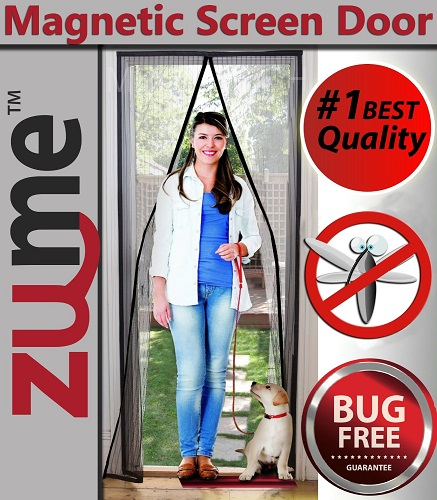 Magnetic Screen Door by Zume