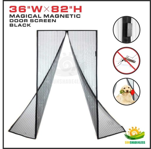 Windscreen4less Magnetic Screen Door