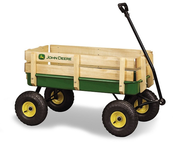 Animated John Deere Tractors And Wagon : Top best pull along wagons for kids reviews