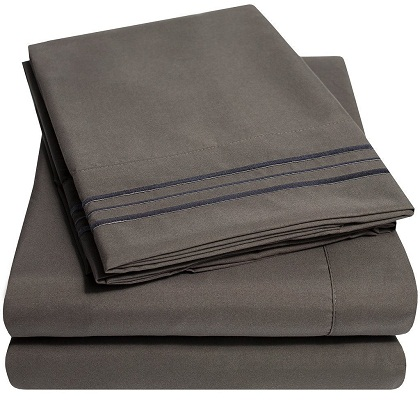 top 10 best bed sheets in 2018 review top 10 review of. Black Bedroom Furniture Sets. Home Design Ideas