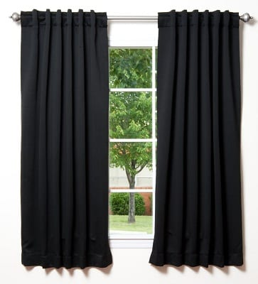 Best Blackout Curtains For Nursery White Blackout Curtains